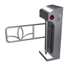 Porcellana Unidirezionale direzione Digital LED Prompt barriera verticale automatica Swing Gate per Supermarket fabbrica